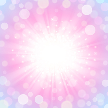 Abstract shining and glowing background in pink-blue colors Иллюстрация