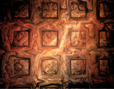 Abstract gold wall. Stock Photo