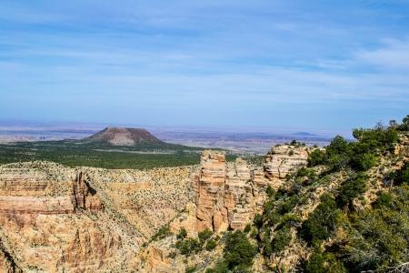 Beautiful Landscape of Grand Canyon Stock Photo