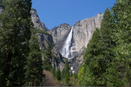 Cascade Yosemite Upper and Lower Falls