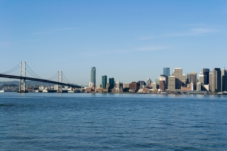 View of the San Francisco skyline