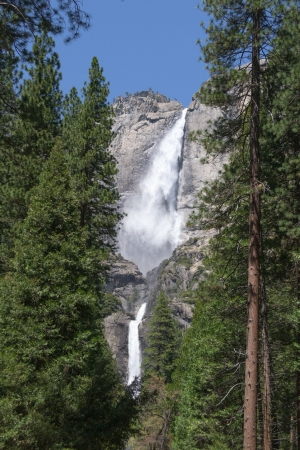 Cascade Yosemite Upper and Lower Falls photo