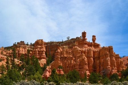Rock Formations in Bryce Canyon National Park, Utah 写真素材