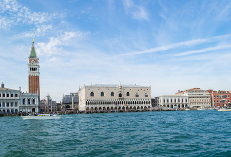 San Marco, Doge Palace in Venice, Italy.