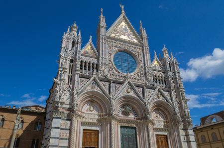 Santa Maria Assunta Cathedral in Siena, Italy. Made between 1215 and 1263.
