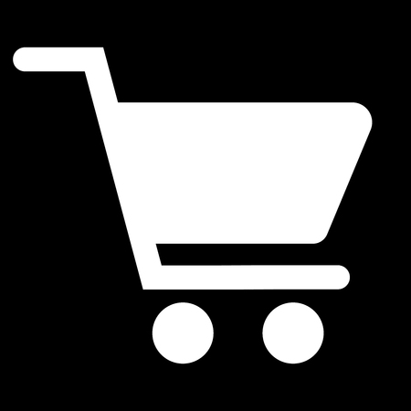 Shopping Cart Icon, flat design vector icon