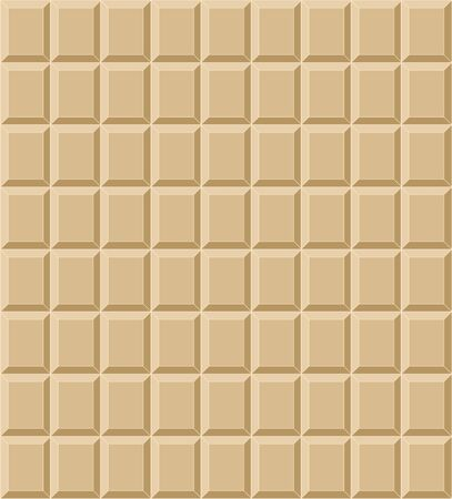 White tile chocolate seamless Vectores