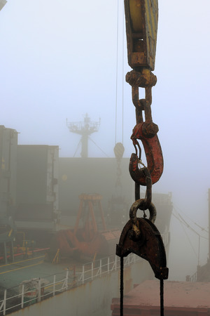 reloading: cargo hook hanging on the ropes