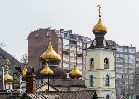 street creed: golden domes of the Orthodox Church