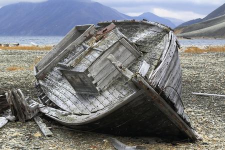 forgotten: forgotten old boat