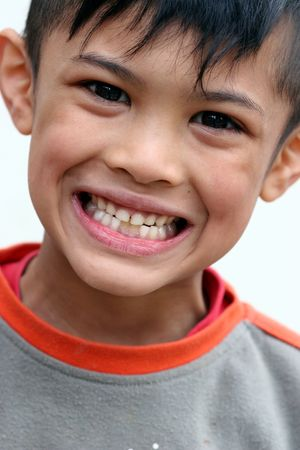 asian boy smiling Stock Photo - 439300