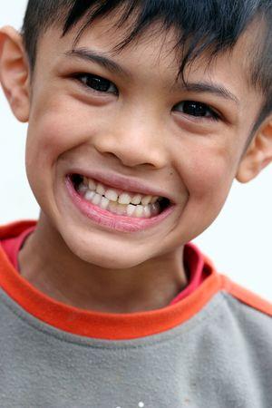 asian boy smiling Stock Photo - 439300