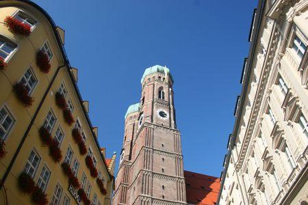 frauenkirche: Frauenkirche in M�nchen