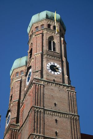 the frauenkirche: torres de Frauenkirche en Munich