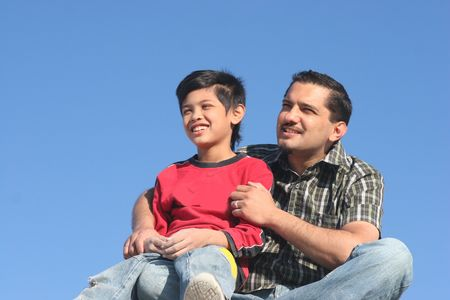 father and son Stock Photo - 932068