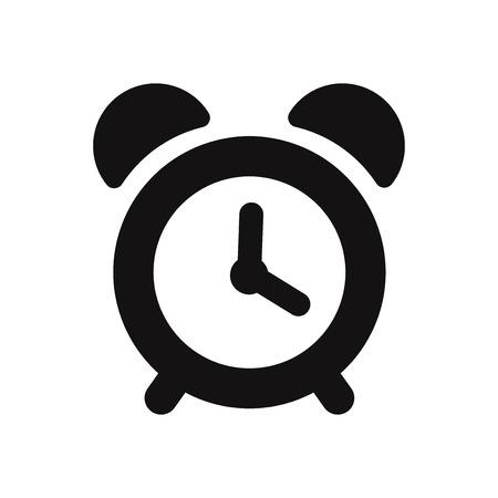 Icono de vector de reloj despertador