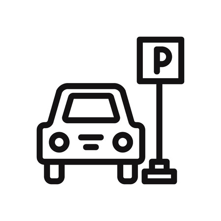 Parking icon vector illustration Vectores