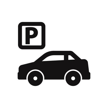Parking icon vector illustration Фото со стока - 120747935