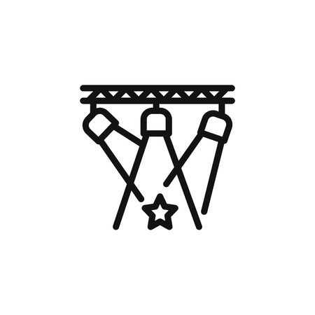 Scheinwerfer-Vektor-Symbol