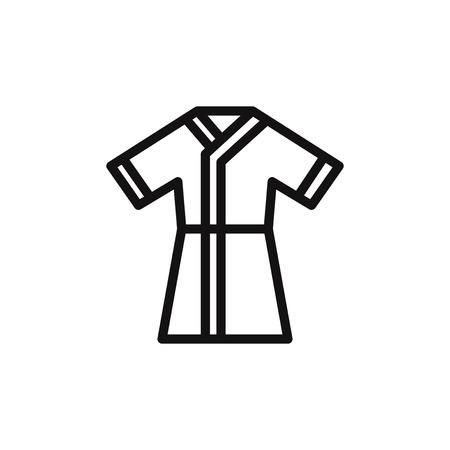 31a8571663 357 Robe Bathrobe Stock Vector Illustration And Royalty Free Robe ...