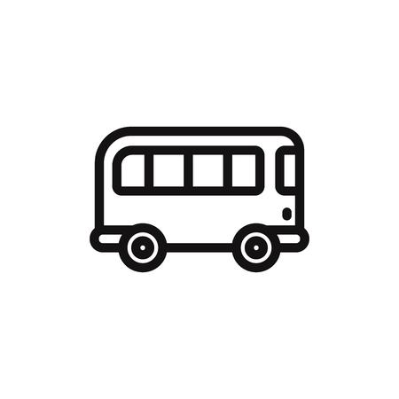 Bus vector icon Фото со стока - 120748192