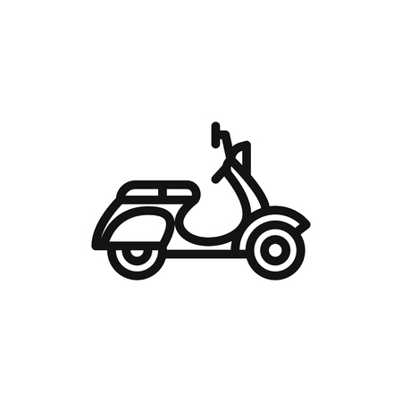 Scooter vector icon Фото со стока - 120748252