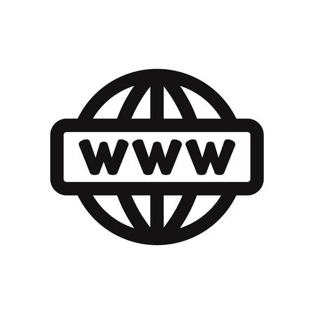 Go to web vector icon. Internet,www symbol.