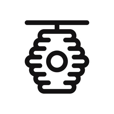 Beehive vector icon