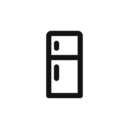 Refrigerator vector icon