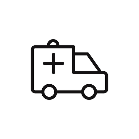 Ambulance vector icon Фото со стока - 120748425