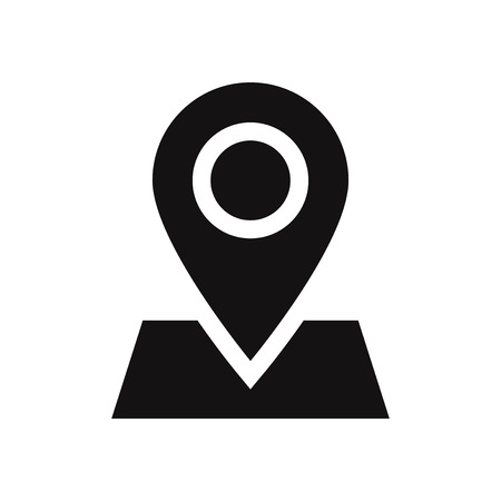 Location on map vector icon