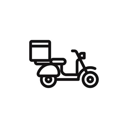 Scooter vector icon Фото со стока - 120748579