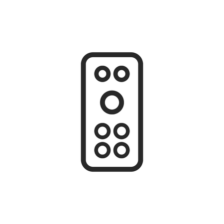 Remote control vector icon