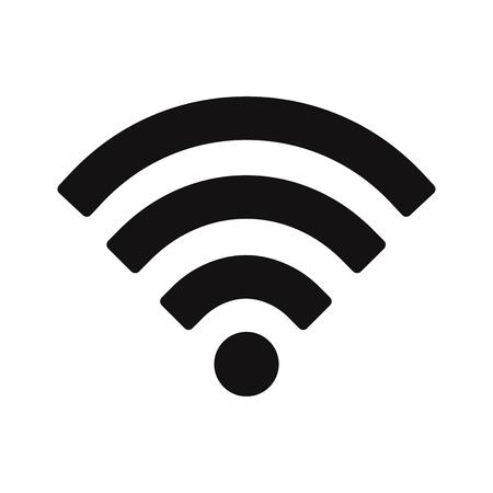 Wifi signal icon vector. Wireless,internet symbol. Vektoros illusztráció