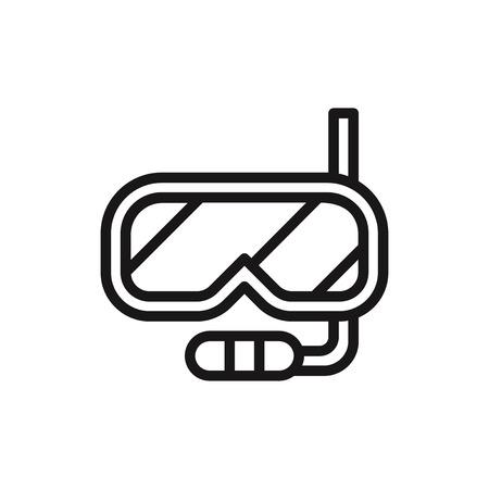 Schnorchel Symbol Vektor Vektorgrafik