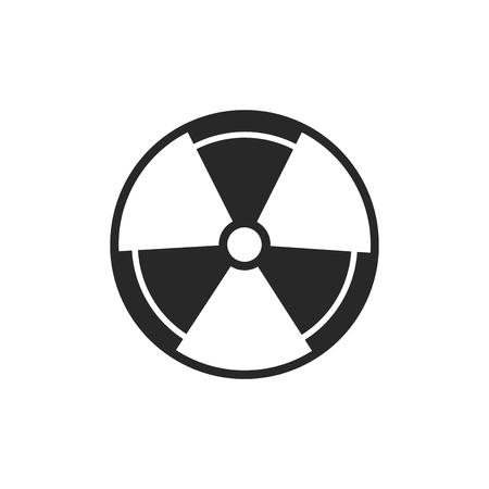 Radiation vector icon Imagens - 122592167
