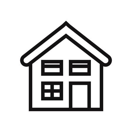 Home icon vector. House symbol. 일러스트