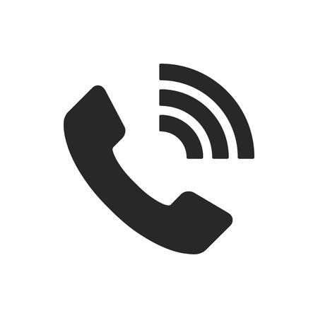 Phone call vector icon