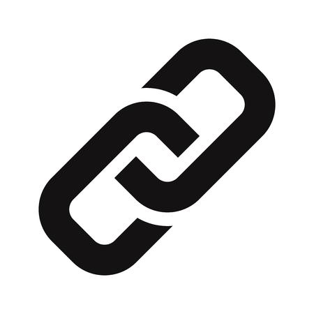 Vecteur d'icône de lien