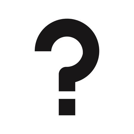 Question mark icon vector Banco de Imagens - 122453511