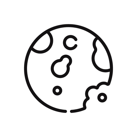Cookie vector icon