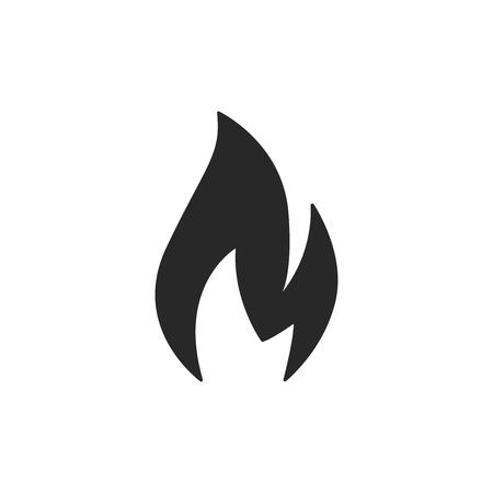Fire vector icon Ilustrace