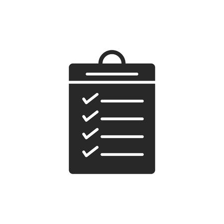 Results vector icon