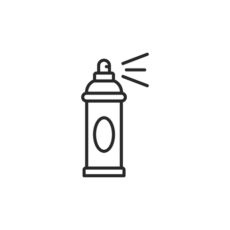Spray can vector icon