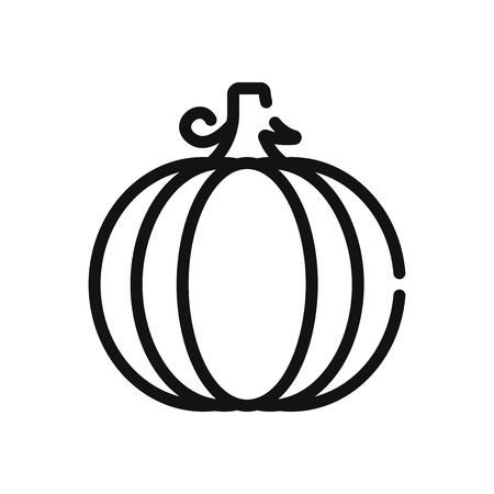Pumpkin vector icon