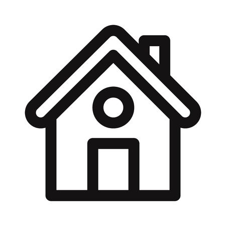 Home icon. Web page,ui vector symbol Illustration