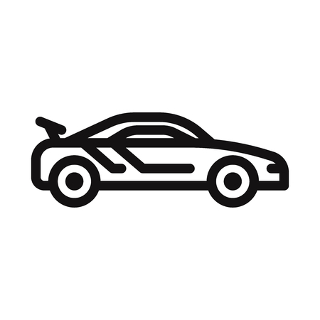 Sport car icon vector