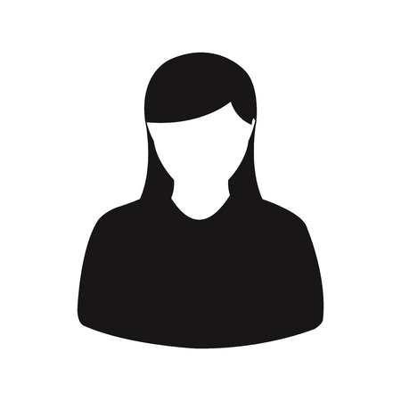 Woman icon vector
