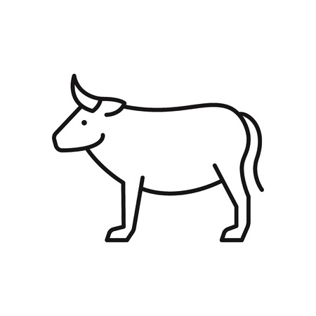 Cow vector icon