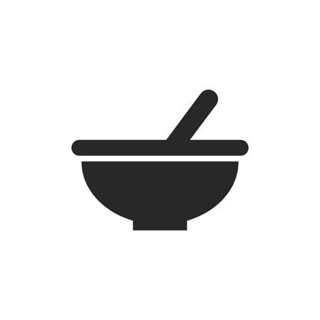 Bowl vector icon